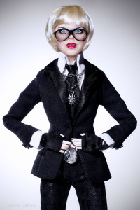 Doll, inspiration Karl Lagarfeld